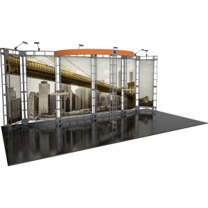 Antares Orbital Express Truss 20ft Modular Exhibit