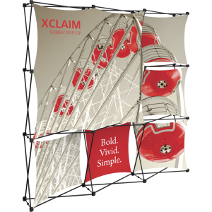 Xclaim 8ft Fabric Popup Display Kit 03